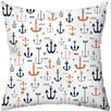 Checkerboard, Ltd Sailing Away Outdoor Throw Pillow