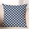 Checkerboard, Ltd Gingham Polyester Throw Pillow