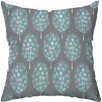 <strong>Checkerboard, Ltd</strong> Guinea Feathers Polyester Outdoor Throw Pillow