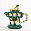 TeaPottery Double Espresso Teapot