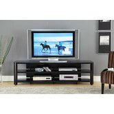 73&quot; Glass TV Stand