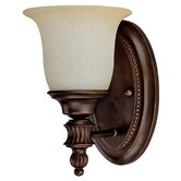 Avery One Light Wall Sconce in Burnished Bronze