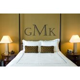 Oxford Monogram Wall Decal