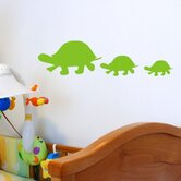 Turtle Family Wall Decal