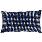 Faux Silk Dots Decorative Pillow