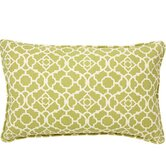 Moroccan Outdoor Decorative Pillow in Green