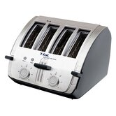 Avante 4 Slice Deluxe Toaster