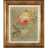 Rose / Poppy Framed Art (Set of 2)