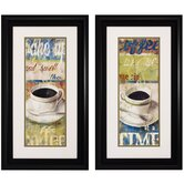 Wake Up I / II Wall Art (Set of 2)