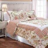 French Bouquet Quilt Set