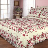 Rose Garden Quilt Set