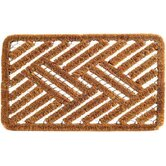 Spiral Cross Hatch Doormat
