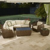 Huntington Sectional Deep Seating Group with Cushions