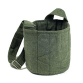 Two Tier Carrier Bag in Forrest Green