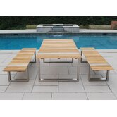 Boca 3 Piece Dining Set