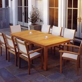 St. Tropez 9 Piece Dining Set