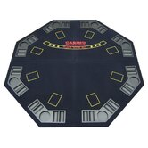 4-Fold Octagon Poker / Blackjack Table Top in Blue