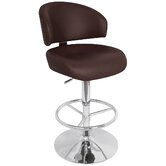 "Regent 33"" Bar Stool in Brown"