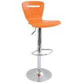 H2 23&quot; Barstool in Orange