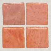 "Sonterra Collection 12"" x 12"" Opalized Mosaic Tile in Rosa"