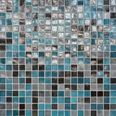 "City Lights 12"" x 12"" Mosaic Blend Field Tile in Rio"