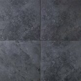 Continental Slate 6&quot; x 6&quot; Field Tile in Asian Black