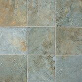 "Franciscan Slate 12"" x 12"" Unpolished Field Tile in Coastal Azul"