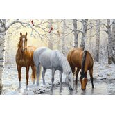 Horse Trio 60 Piece kids Puzzle