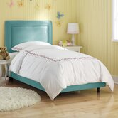 Border Micro-Suede Youth Bed
