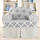 Amelie Club Chair T-Cushion Slipcover