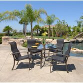 Escape 5 Piece Sling Dining Set