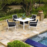 Parkview Woven 5 Piece Dining Set