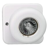 Round Halogen Remote Head for Emergency Light in White