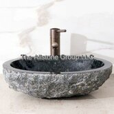 Oval Vessel Sink with Broken Edge