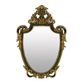 Acanthus Shield Mirror
