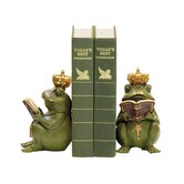 Superior Frog Gatekeeper Bookend (Set of 2)
