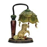 Rabbit under Leaf Table Lamp