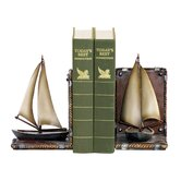 Sailboat Book Ends