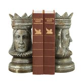 Two Piece Regal Bookend Set