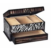 Zebra Jewelry Box