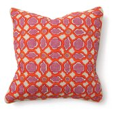 Bohemian Chic Balance Pillow in Pink and Orange