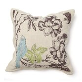Provence Paradise Bluebird Pillow
