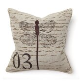 Provence Dragonfly Pillow