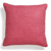 Solid Textures Linen Willow Basket Weave Accent Pillow
