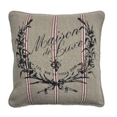 Maison de Luxe Linen Crush Accent Pillow