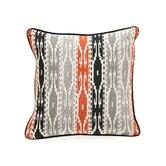 African Mod Siliana Print Stripes Pillow