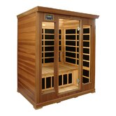 3-Person Luxury Cedar Infrared Sauna