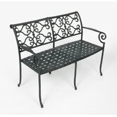 Veracruz Aluminum Garden Bench