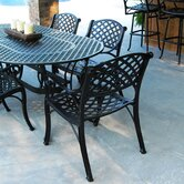 Crossweave Patio Dining Arm chair