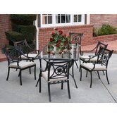Star 7 Piece Dining Set